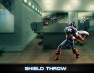 Captain America Level 6 Ability