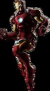 Iron Man-B Portrait Art