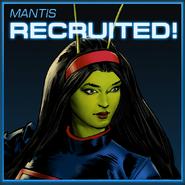 Mantis Recruited