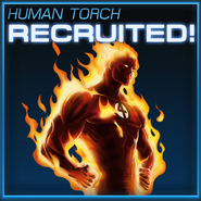 Human Torch Recruited