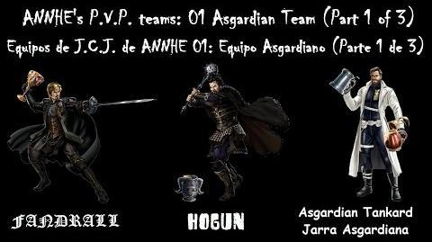 ANNHE's P.V.P. teams 01 Asgardian Team (Part 1 of 3) Equipos J.C.J. de ANNHE 01 Asgardiano (1 3)
