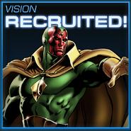 Vision Recruited