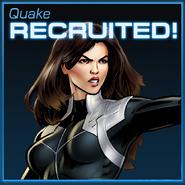 Quake Recruited