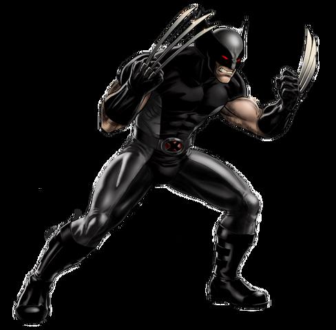 File:X-Force Wolverine Portrait Art.png