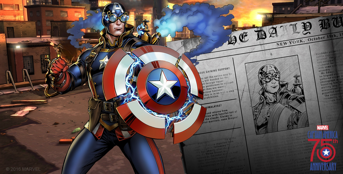 Captain America (1901) Event Banner