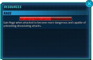 Resources - Rage