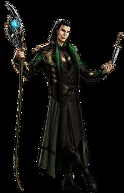 Loki Portrait Art