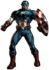 Captain America Portrait Art
