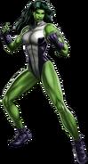 She-Hulk Portrait Art