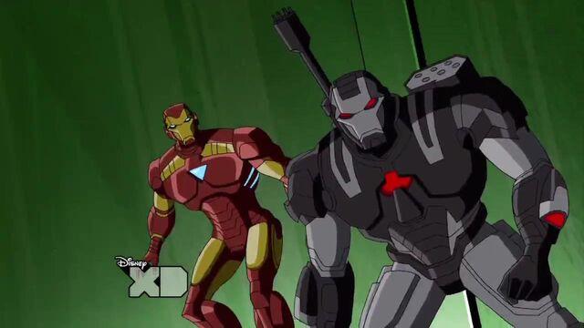 File:Iron man+War machine.JPG