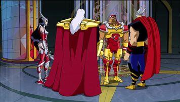 Bill and Asgardians