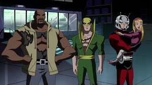 Heroes for Hire and Cassie