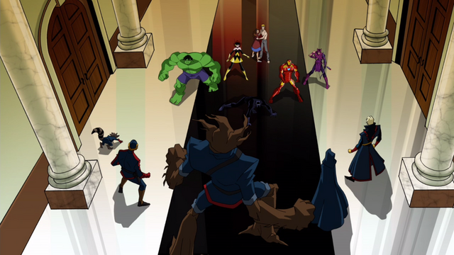 File:Avengers standing against the Guardians.png