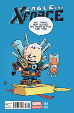 Cable and X-Force Vol 1 1 Baby Variant