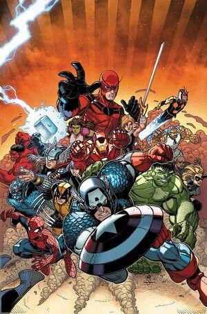 Avengers vs X-Men Vol 1 10 Brandshaw Variant Textless