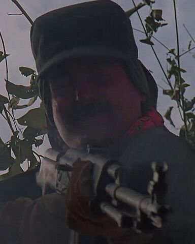 File:Guerrilla shot down from tree.jpg