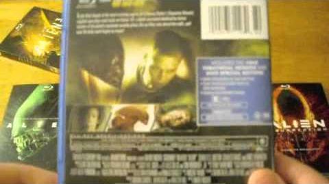 Alien Series Blu-ray Unboxing