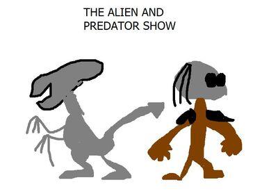 Alien and predator show