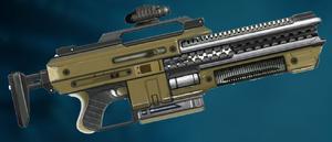 Sharp-rifle