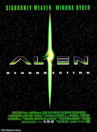 ファイル:Alien Resurrection poster.jpg