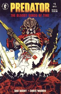 Predator Bloody Sands of Time issue 1