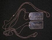 PP dog tags