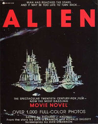 Alien Movie Novel