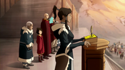 Korra addressing the Southern Water Tribe.png