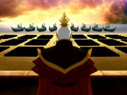 Sozin and his army