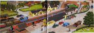 RailwaySeriesbooksendpapers