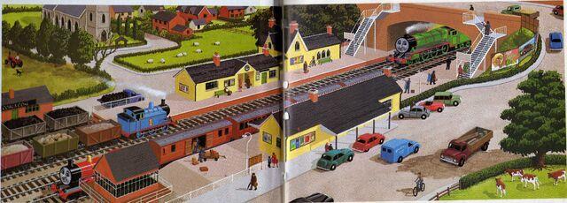 File:RailwaySeriesbooksendpapers.jpg
