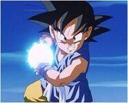 Goku Charging a Kamehameha in GT