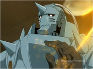 Alphonse's Armor Reflects Bullets That Terrorists Fire