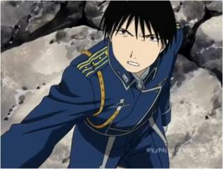 Roy Mustang When Confronting The Elric Brothers