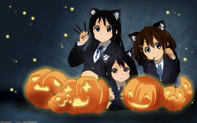 File:K-On Cat Girls.png