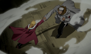 Edward Elric's Punch is Grabbed by Scar