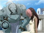 Alphonse Trying to Comfort Rose After She Finds Out