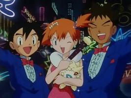Ash,Misty&Brock