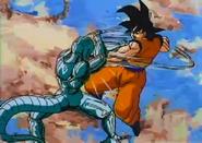 Goku Fighting Against MetaCooler2
