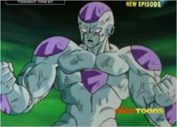 Frieza After Noticing the Dark Sky