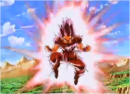 Goku Unleashes the Kaioken Against Cooler