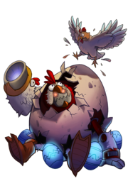 CharacterRender Clunk Skin Cluck