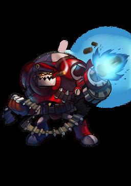 CharacterRender Clunk Skin Commando redBG