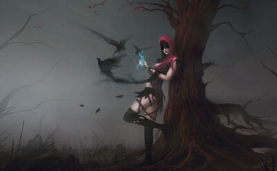 Witch of the wilds by blinck-d4sv4qv