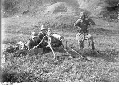 Bundesarchiv B 145 Bild-P050127, Manöver der Reichswehr in Königshofen-Franken