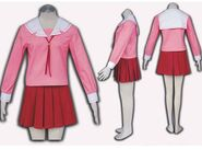 Real girls' winter uniform