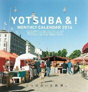 Yotsuba calendar monthly 2014