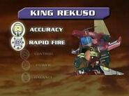 King Rekuso Stats