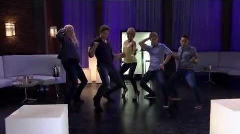 "Chelsea Kane, Tahj Mowry - ""Baby Daddy"" Cast Dance-Off"