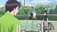 S2 E20 Takagi uses medical timeout